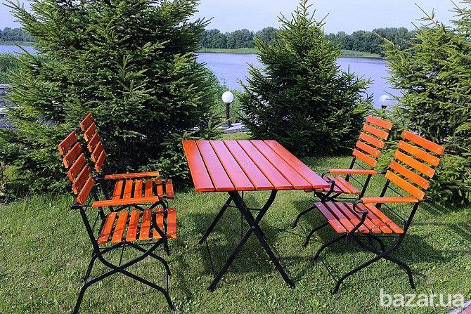 Раскладная мебель (комплект стол + 4 стула) для Кафе,Терас,Дачи,Дома - Мебель на заказ Светловодск на Bazar.ua
