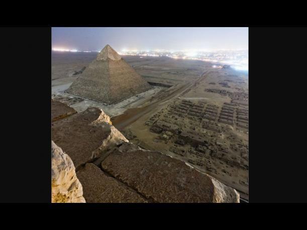Egipto: Fotógrafos rusos captaron vista única de la Gran Pirámide de Giza (FOTOS)