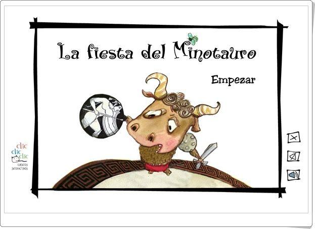 """""""La fiesta del Minotauro"""" (Cuentosinteractivos.org)"""