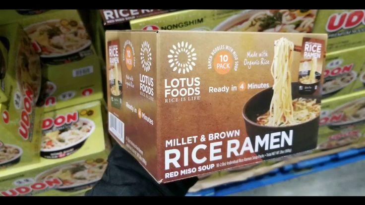 Costco lotus foods millet brown rice ramen 10 pack 9