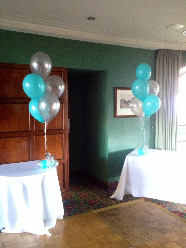 Caribbean Tiffany Blue And Silver Greengatehotel