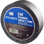 1.89 in. x 54.7 yd. 510 Professional-Grade Gaffer Tape in Black, Blacks