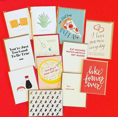 "A Valentine's Card for 25 Different Types of ""Lovers"" ~ on the Little Blue Canoe Blog"