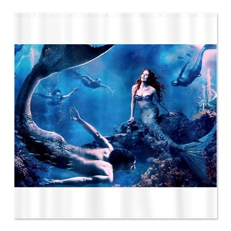Faith In Miracles Tote Bag Curtains Mermaids And Showers