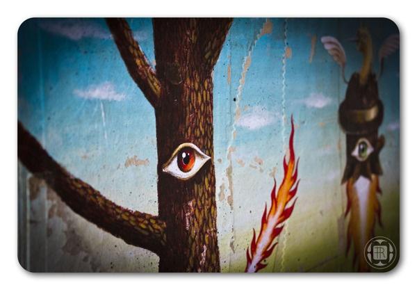 *NEWS!!! - burning tree* by Robert Romanowicz, via Behance