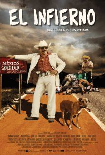 To watch:  El Infierno (El Narco) by Luis Estrada, 2010. A new Mexican dark comedy classic that shows a part of current Mexican reality without the usual Hollywood cliches.
