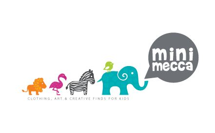 Mini Mecca logo design by wabi