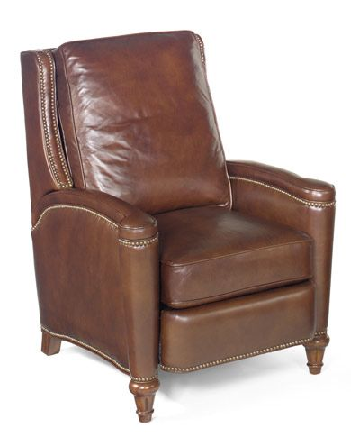 Valencia All Leather Recliner   Grand Home Furnishings | 0216918 Johnson  City, TN