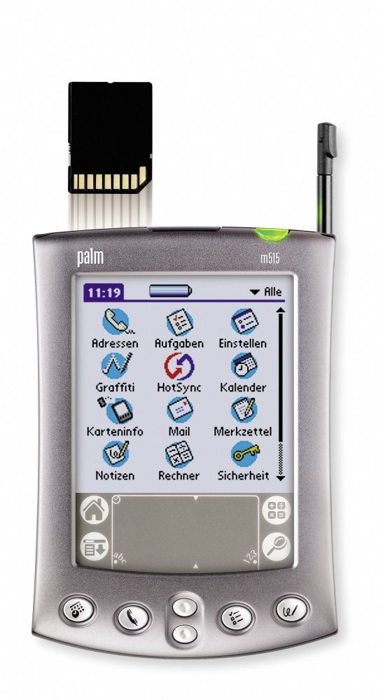 Loved my Palm Pilot M515 until the iPod Video hit the stores.