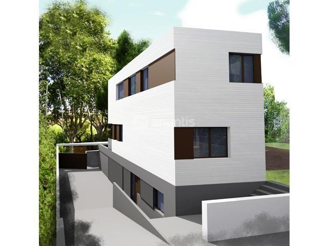 Las 25 mejores ideas sobre planos de planta s tano en for Casas modernas unifamiliares