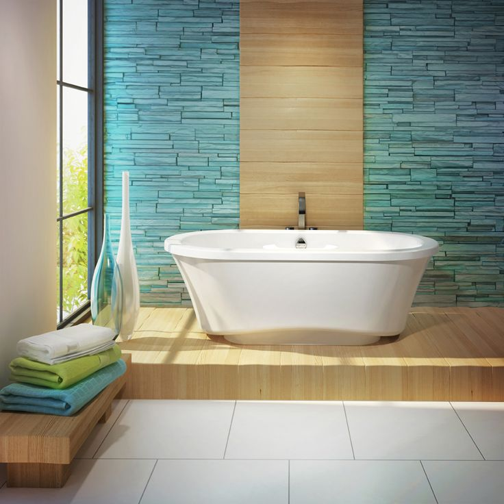 Amma® 7242 Two Person Freestanding Air Jet Tubs Make The Perfect  Centerpiece Of Your Own Private Luxury Spa Bathroom.
