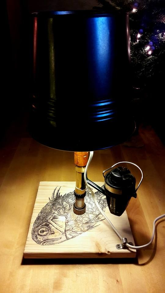 Fisherman lamp