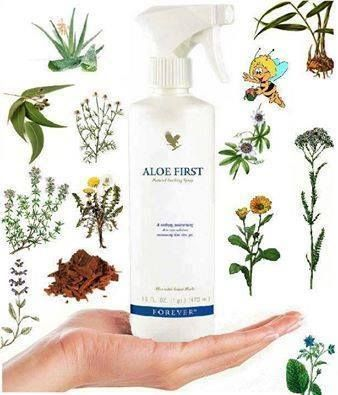 Aloe First® Spray This exclusive skin soothing formula is an excellent first step for soothing minor skin irritations. http://360000339313.fbo.foreverliving.com/page/products/all-products/7-personal-care/040/usa/en Buy it http://istenhozott.flp.com/shop.jsf?language=en ID 360000339313 Need help? http://istenhozott.flp.com/contact.jsf?language=en
