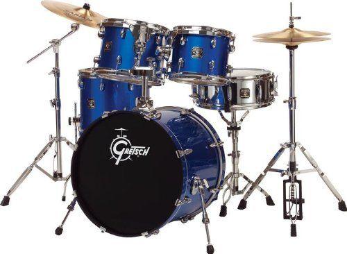 Gretsch Drums Blackhawk 5 Piece Standard Drum Set With