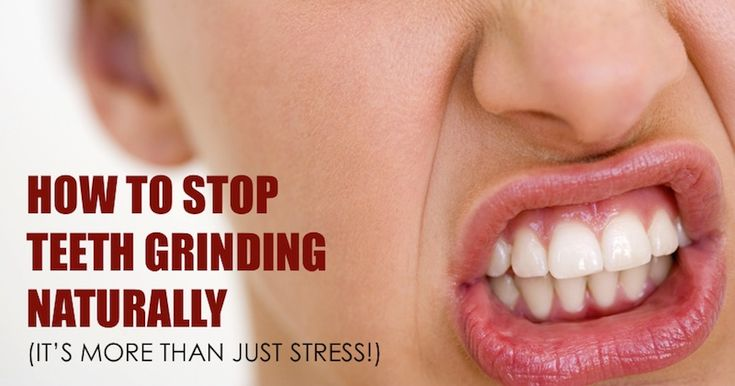 Bruxism how to stop teeth grinding naturally its not