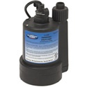 "Superior Pump 91250 - 30 GPM (1-1/4"") Submersible Utility Pump. Submersible utility pumps are great for removing unwanted water. This pump is so inexpensive, it should be considered a staple.     This pump comes complete with a garden hose adapter so you can get that unwanted water out of your window well or basement with items you already have at home. In case you want to move the water more quickly it comes set up with a 1 1/4"" discharge."