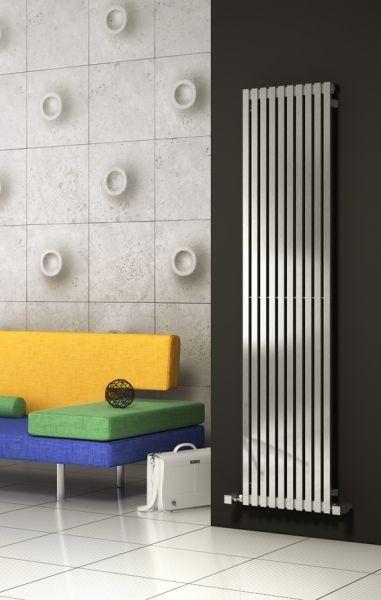 Reina Xeina Stainless Steel Radiator | Stainless Steel Bathroom Accessories | BetterBathrooms.com