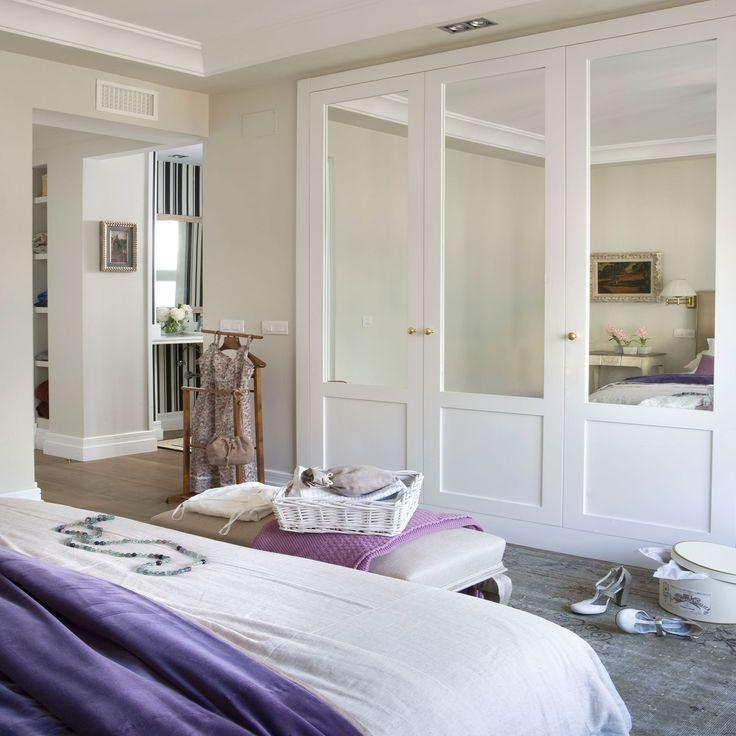 17 mejores ideas sobre puertas de armario con espejos en for Espejo dormitorio