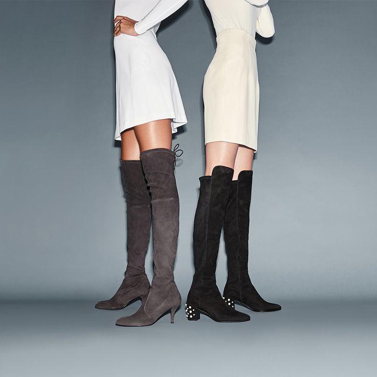 Mid-heel styles are this season's wardrobe hereoes. #inourshoes