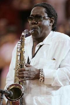 Clarence Clemons,  saxophone player for Bruce Springsteen 1942-2011