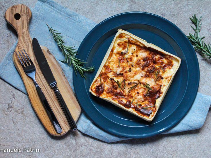 Torta salata trota e ricotta ricetta