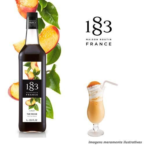 Xarope 1883 Routin De Chá Pêssego - R$43