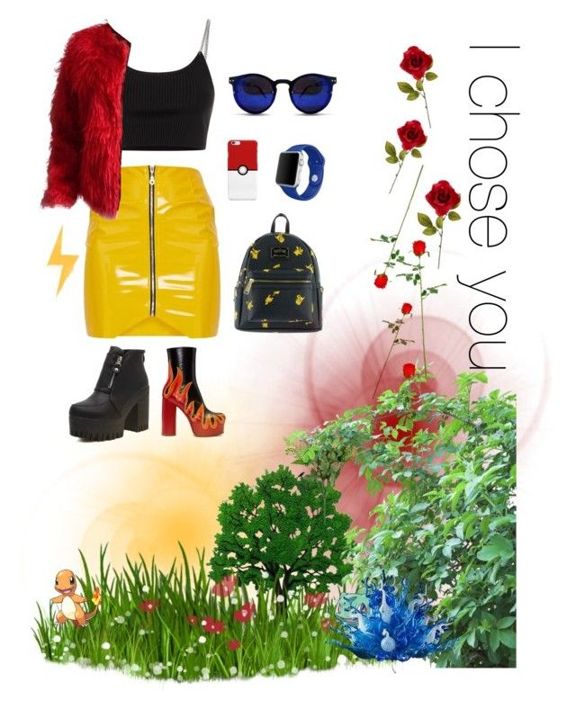 ✨⚡️🔥 by amandalowenborg on Polyvore featuring polyvore, fashion, style, Alexander Wang, Vetements, Loungefly, Apple, Spitfire, Viz Glass and clothing
