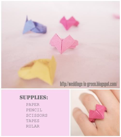 Origami heart ring_ Photobucket