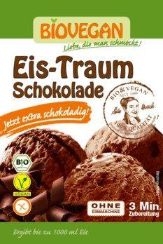 Biovegan Eis-Traum Schoko , Eispulver 89g - Desserts