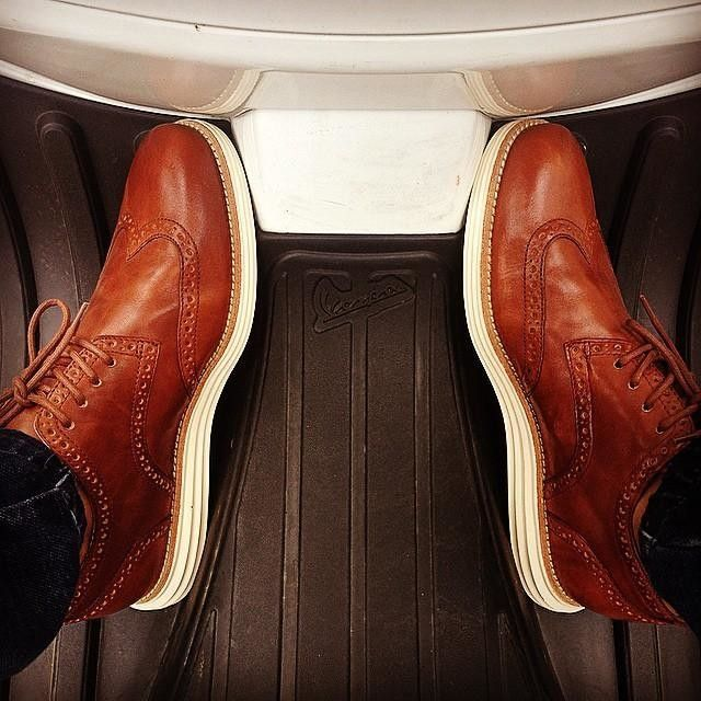 LunarGrand Wingtip in Woodbury | Cole Haan - Cold! Saw these in black. Classy shoe!