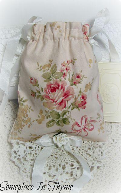 Vintage Crochet Soap Pocket Sachet Bag-sachet,soap,roses ...