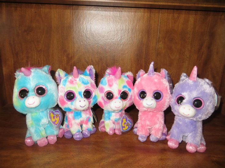 Rare Beanie Boos | Treasure , Wishful , Skylar , Magic & Rainbow