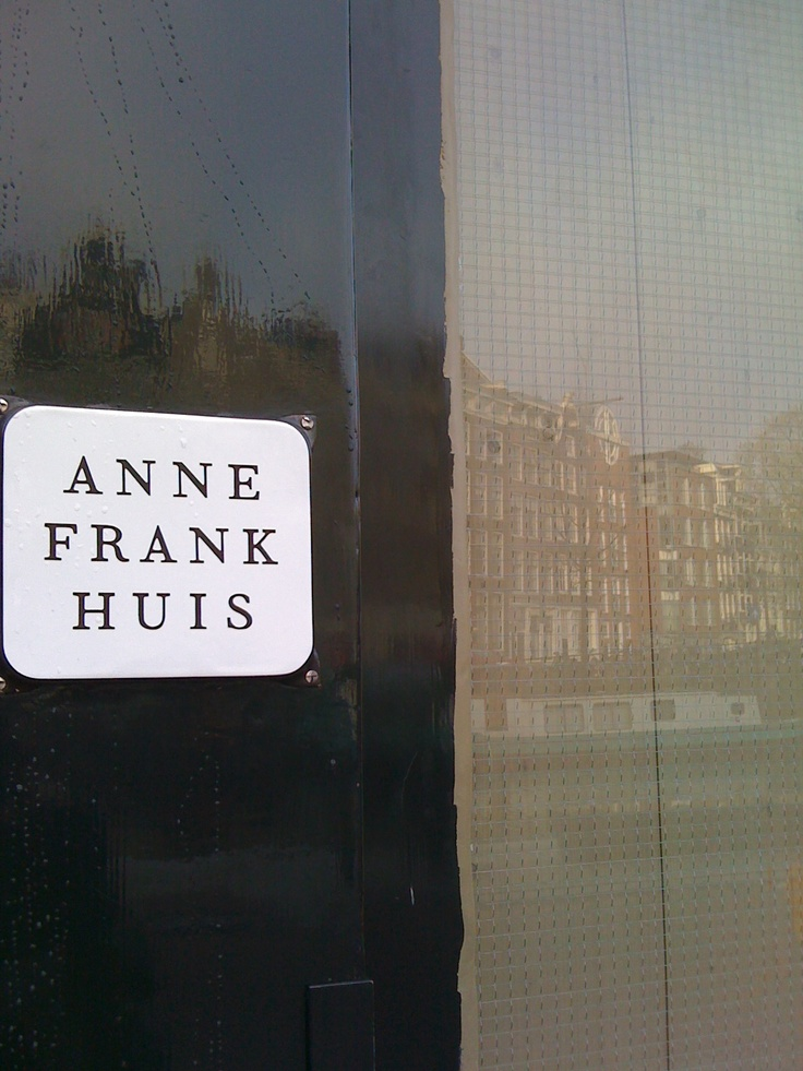 NETHERLANDS. Amsterdam - Anne Frank Haus.  Traveled With: Nieces Lauren Pereny -17yo and Katherine Walsh -16yo  April 2012  Everyone should visit Anne Frank's Haus; it truly is that special.  #monogramsvacation