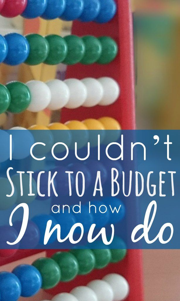 I couldn't stick to a budget and how I do now - there was a time when we couldn't stick to a budget. Whether it was boredom, a habit or just laziness; we always came up short. Luckily things changed.
