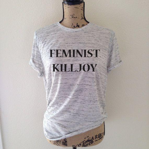 Killjoy femminista Tank Top per donna - Camicie femminista divertente - femminismo - i diritti delle donne - l