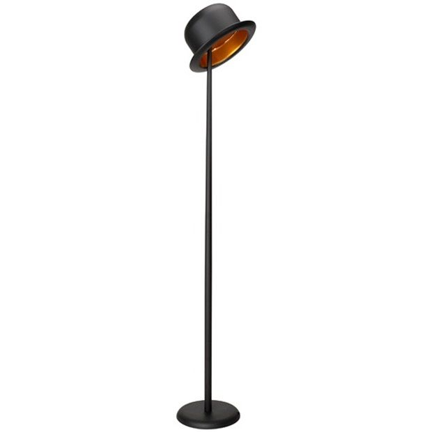 La Chaise Longue Bolhoed Vloerlamp - Zwart - afbeelding 1