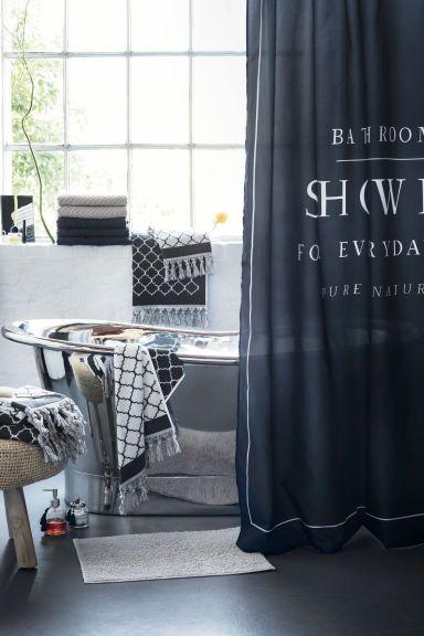 Die besten 25+ Bauernhaus duschvorhang ringe Ideen auf Pinterest