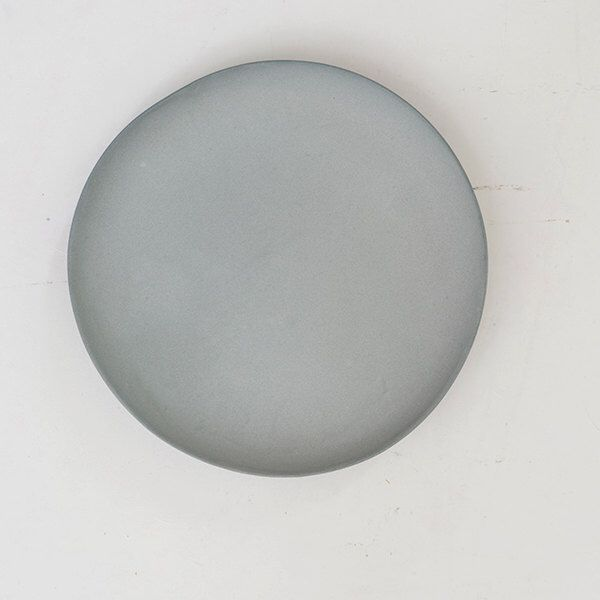 Plates porcelain gray by GoldenBiscotti on Etsy https://www.etsy.com/listing/156921197/plates-porcelain-gray