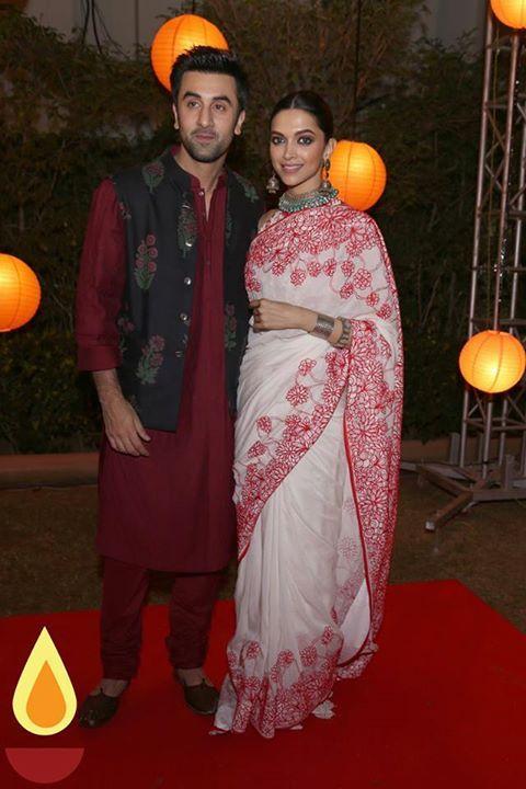 Deepika Padukone and Ranbir Kapoor for Tamasha Promotion.