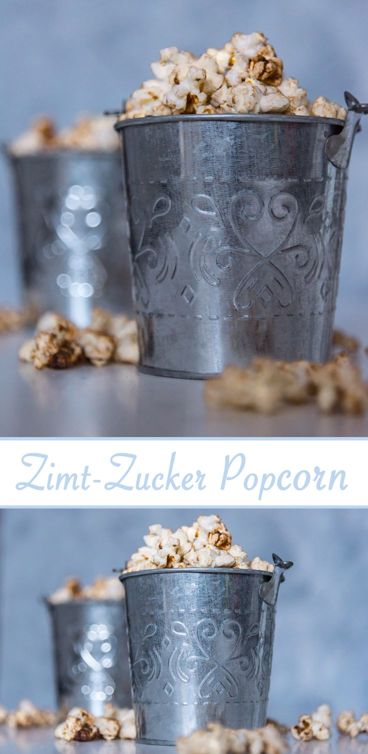 Für den Silvesterabend ist Zimt Zucker Popcorn perfekt! :)