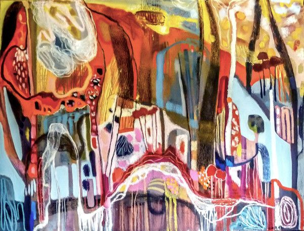 A Quiet Creek in the Woods | lisa morgan art