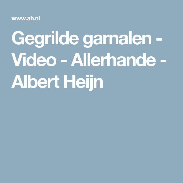 Gegrilde garnalen - Video - Allerhande - Albert Heijn