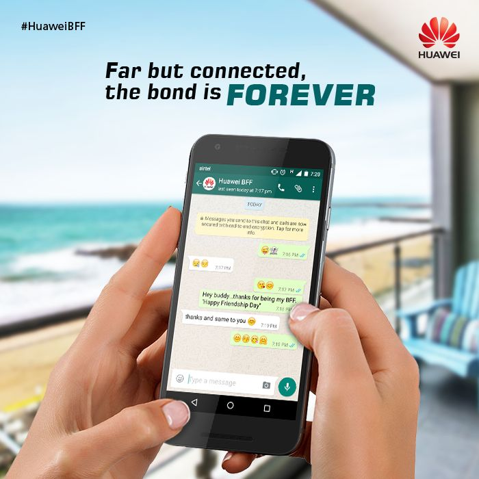 This #FriendshipDay vow to make beautiful memories with those who are Friends Forever! #HuaweiBFF