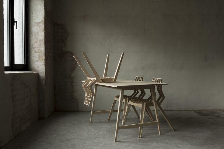 "查看此 @Behance 项目:""Mykin chair by Jone Myking""https://www.behance.net/gallery/44843779/Mykin-chair-by-Jone-Myking"