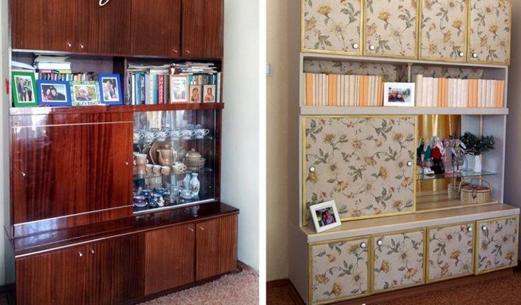 El viejo armario de la abuela puede convertirse en un objeto personalizado y de aspecto moderno.