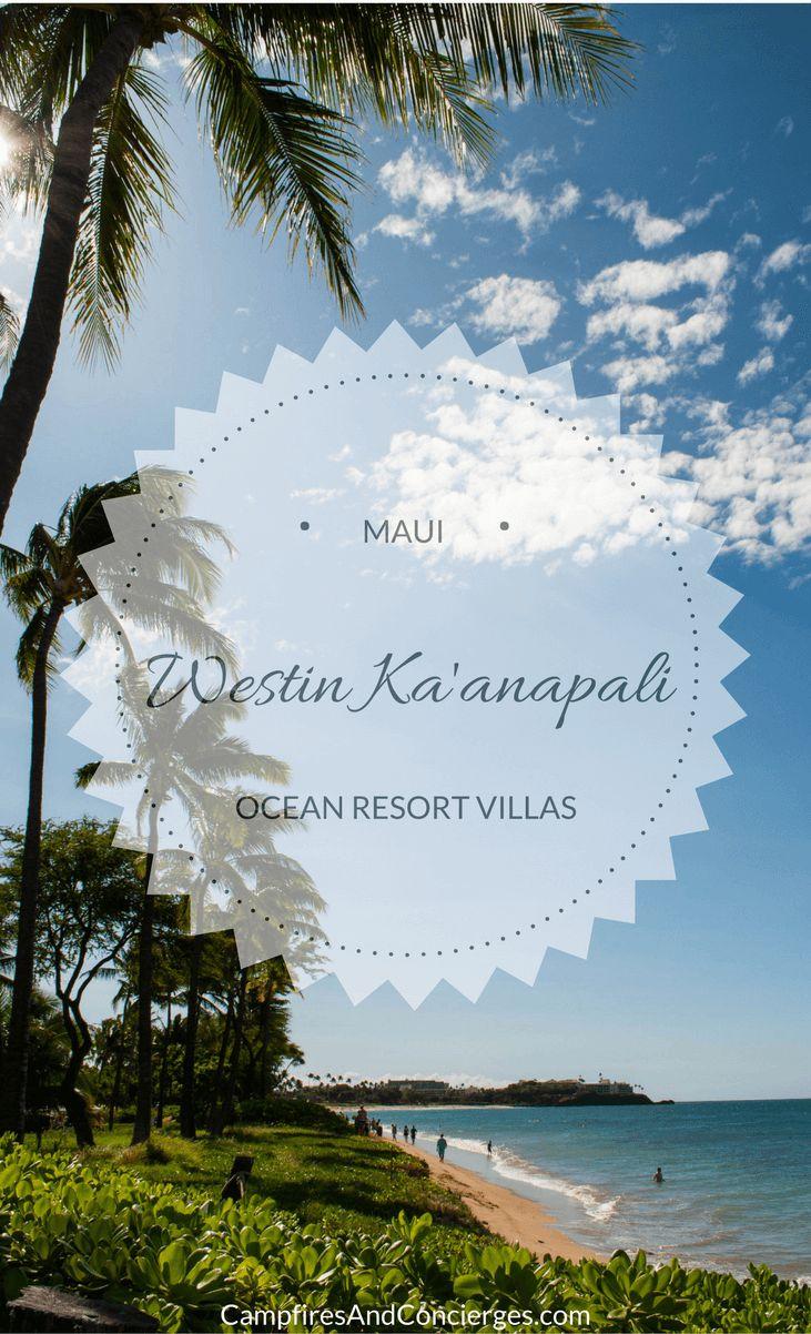 Westin Ka'anapali Ocean Resort Villas Maui, Hawaii, USA