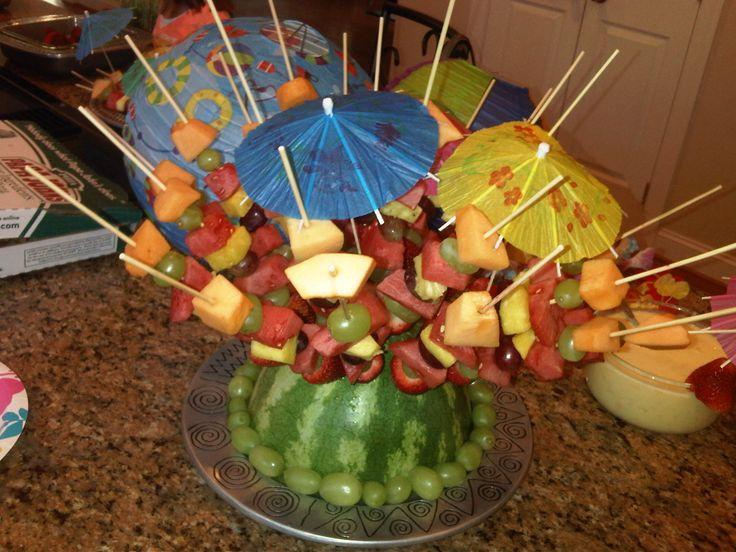 """#Fruit #Decoration """"HawaiianParty"""