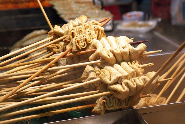 Street Food - odeng/eomuk (fishcake)