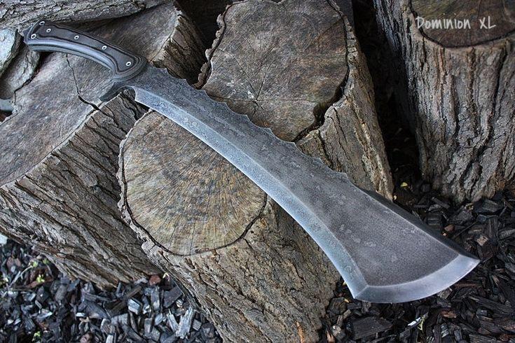 Personnalisé des gaines de machettes foto épées par FallenOakForge