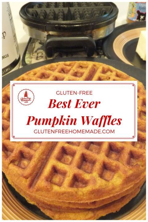 Get the spicy sweet pie flavor you love in Pumpkin Waffles! Excellent recipe for making extra to freeze for a quick breakfast on a busy morning. Just pop them in the toaster and away you go!